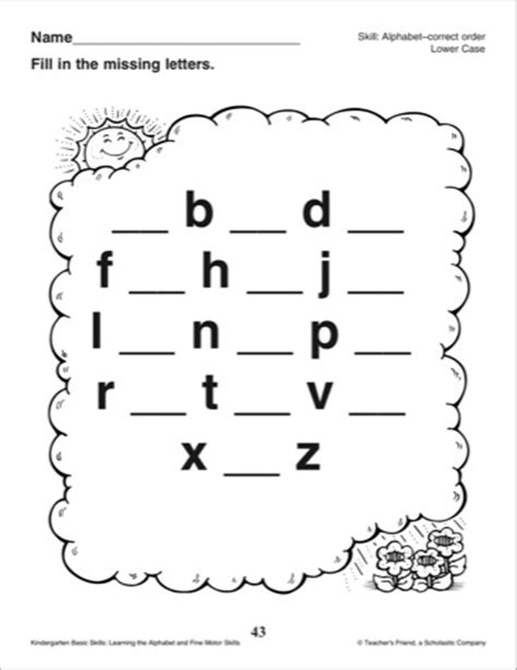alphabet worksheets missing letters 11 best images of alphabet fill in the missing letter
