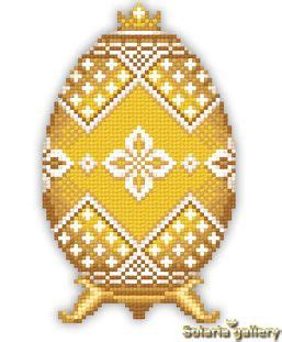 yellow egg pattern pattern quot yellow faberge egg with silver flowers quot pdf