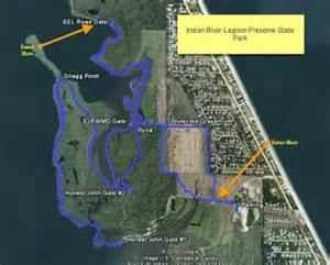 indian river lagoon florida map florida hikes and other outdoor information indian river