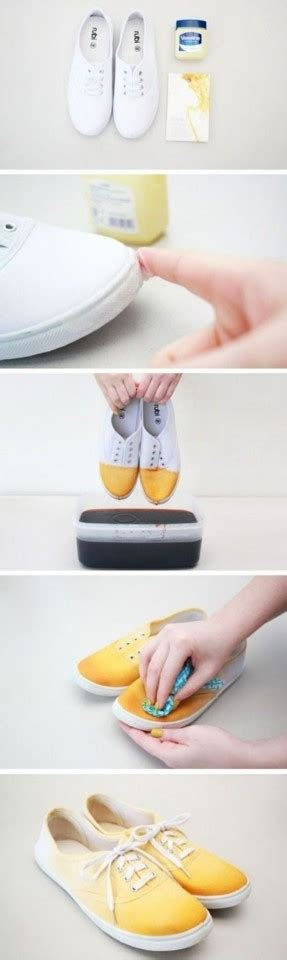 ombre shoes diy 15 ways to make fantastic diy sneakers pretty designs