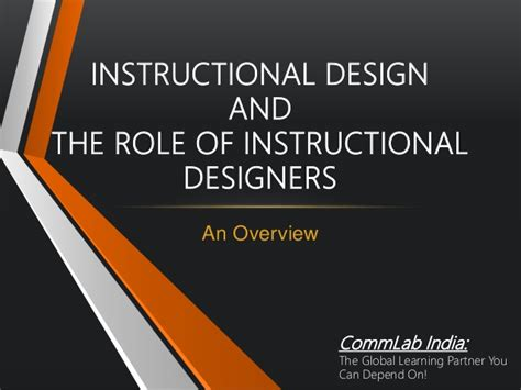 instructional design using powerpoint instructional design and role of instructional designers