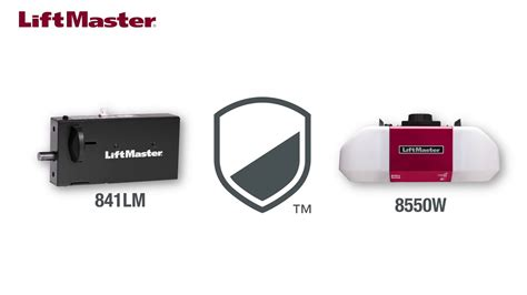 Automatic Garage Door Lock How To Install The Liftmaster 174 841lm Automatic Garage Door Lock