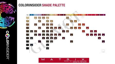 matrix socolor color chart pdf matrix colorinsider color chart glamot de