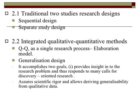 design experiment using sequential qualitative analysis qualitative research