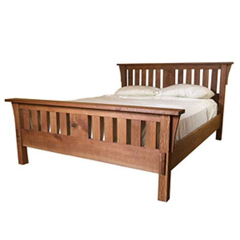 mission style beds build a mission style bed finewoodworking