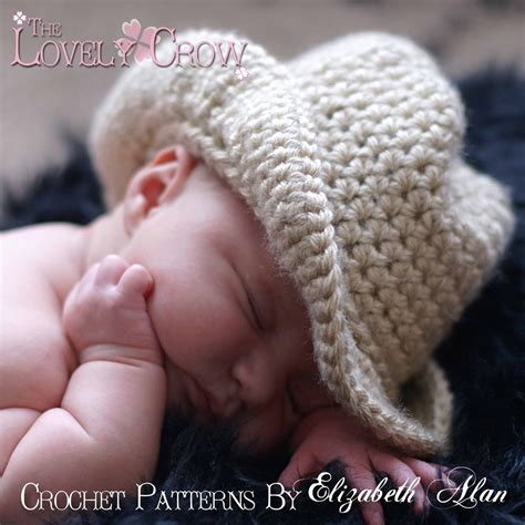 knitted baby cowboy hat pattern cowboy hat crochet pattern baby for boot scoot n cowboy