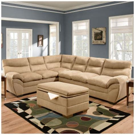 Simmons Flooring by Simmons 9515 Sectional Sofa Latte Home