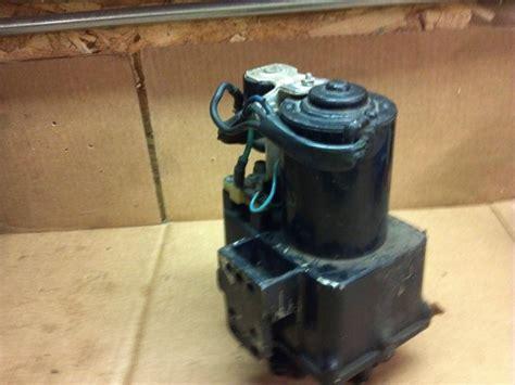 sell mercruiser hydraulic trim pump motorcycle  erie michigan