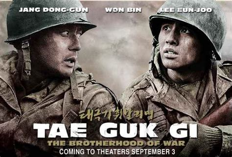 film drama war tae guk gi the brotherhood of war zombette s