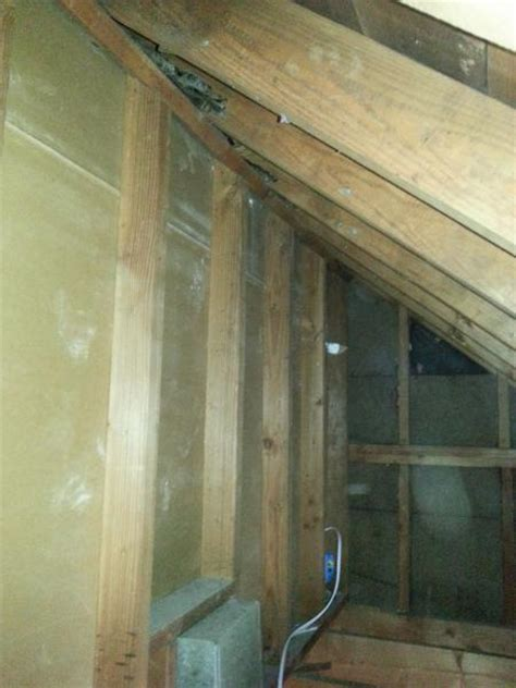 Should I Insulate Interior Walls by Insulate Knee Wall In Cape Cod Doityourself