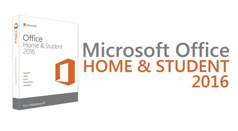 Microsoft Office Student office home and student 2016 ebuyer