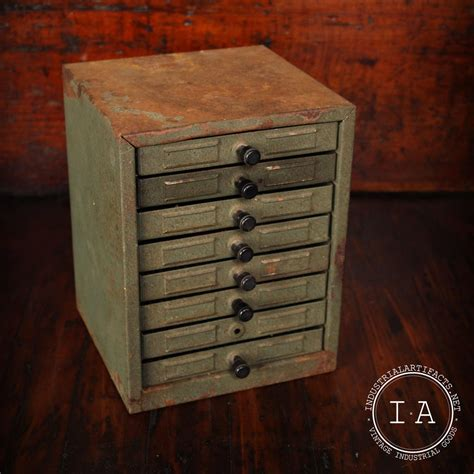 small parts storage cabinets with drawers vintage industrial 8 drawer small parts storage cabinet