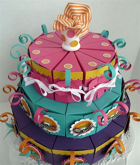 How To Make A Cake Out Of Paper - sussex circle paperworks