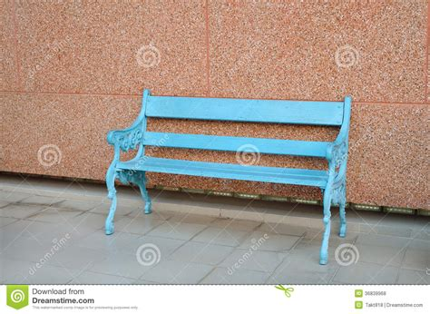 blue wood bench blue wooden bench royalty free stock photos image 36839968
