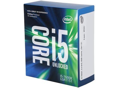 Ntel I5 7600k 3 8ghz Up To 4 2ghz Cache 6mb Box Soc intel i5 7600k kaby lake 3 8 ghz lga 1151 91w bx80677i57600k cpu ebay