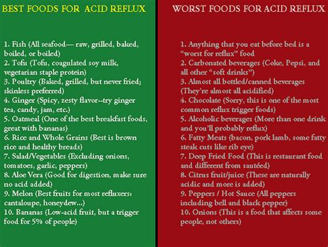 best foods worst foods for acid reflux what diet and lifes flickr photo
