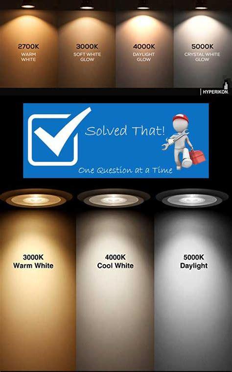 light bulb color temperature light bulb color temperature comparison infographic