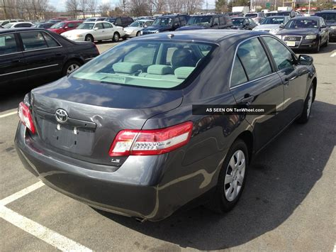 Toyota Camry Le 2010 2010 Toyota Camry Le