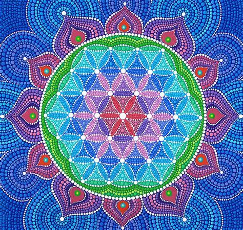 hoy pintamos mandalas capturando la vida flor de la vida 161 significado origen y toda la informaci 243 n