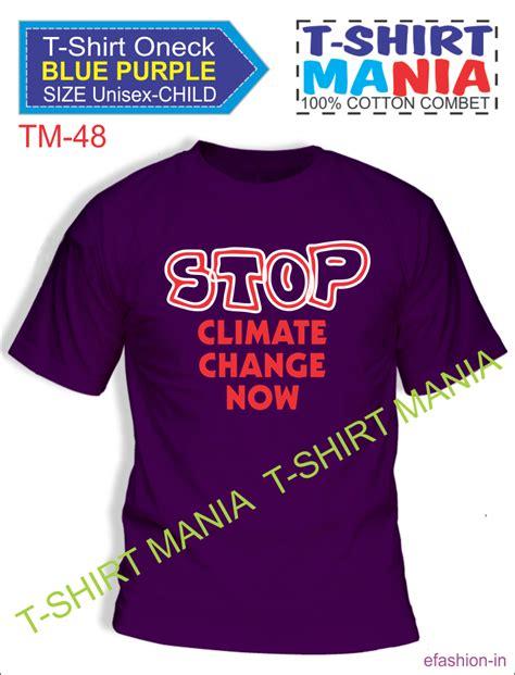 T Shirt Kaos Mania dhn konveksi selamatkan bumi melalui kaos mania