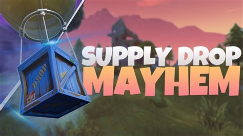 supply drop antics ps fortnite battle royale