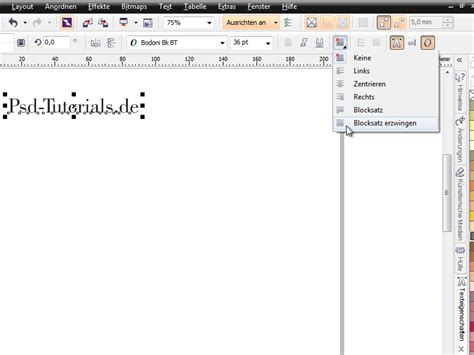 corel draw x6 text effects coreldraw x6 grundlagen hilfsmittel text corel