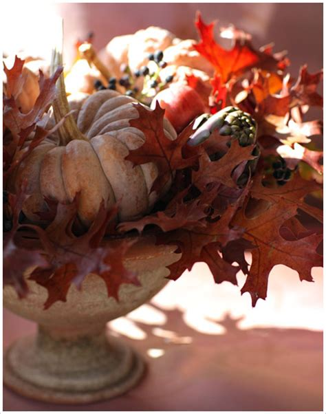 19 fall party centerpiece projects