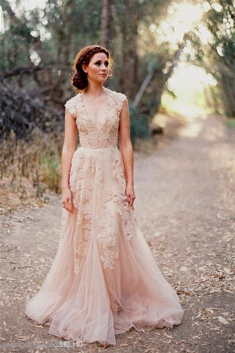 Leichte Hochzeitskleider by Light Pink Wedding Dress Csmevents