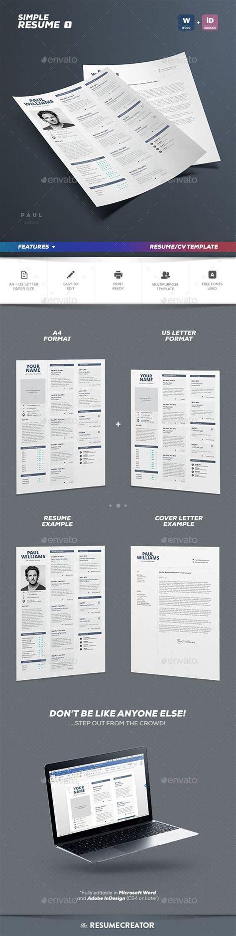 Simple Resume Template Vol 7 by Best 25 Simple Resume Ideas On Simple Resume