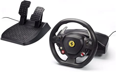 volante xbox volante thrustmaster spider 458 racing wheel