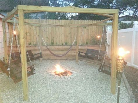 Outdoor Gazebo With In Ground Fire Pit And Hand Made Gazebo Pit