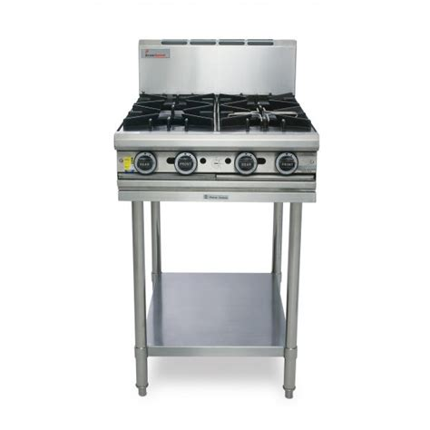 Kitchen Gear Standing by True Heat T60 4 4 Burner Stove With Leg Stand
