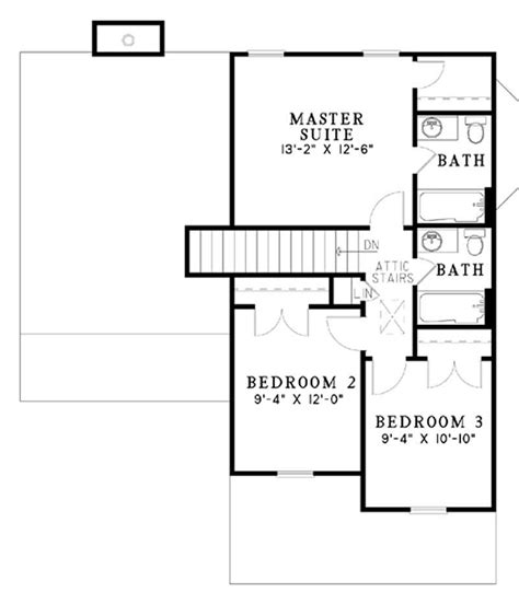 two level floor plans multi level southern traditional house plans home