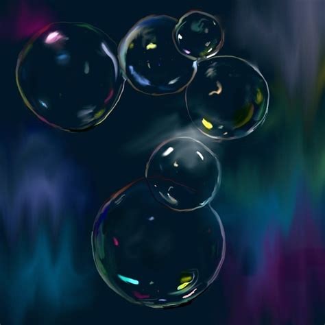 Material Pc bild malerei seifenblasen von geli bei kunstnet