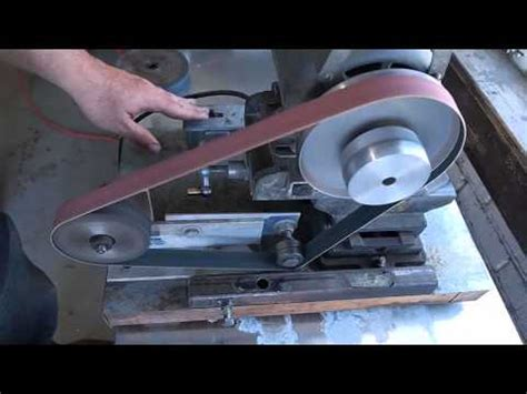 Zoomie Products Model 66 Belt Grinder How To Save Money