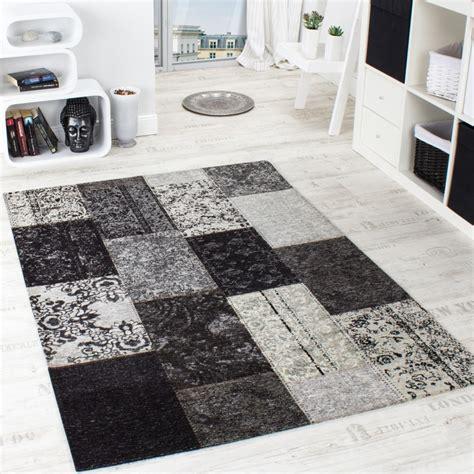 teppiche retro vintage teppich antik trendiger patchwork stil designer