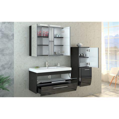 black high gloss bathroom furniture bathroom furniture set high gloss bathroom mirror cabinet