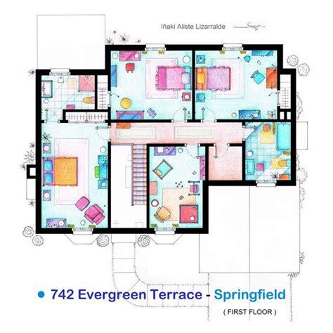 tv show house floor plans famous tv show floor plans house nerd