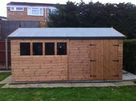xwooden heavy duty shed workshopmm red wood xcls