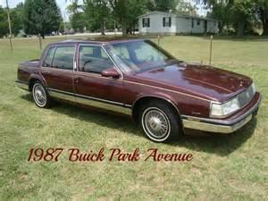 1988 Park Avenue Buick 1988 Buick Park Avenue Cars