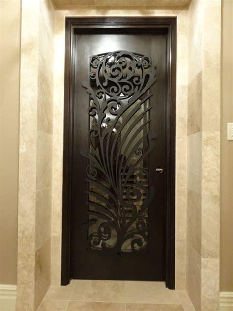 Iron Interior Doors Ornamental Iron Screens For Doors Modern Interior Doors Chicago By Arttig Artistic Creations