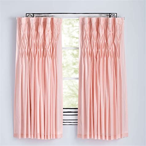 pink and white nursery curtains curtains bedroom nursery the land of nod