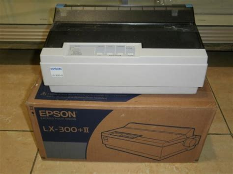 Printer Epson Lx 300 Ii printer epson lx 300 ii original for sale indonesia
