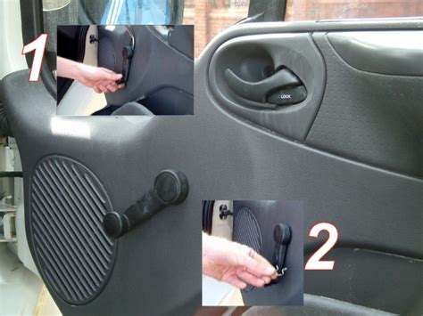 How To Remove Winder Knob by Armaplate Fitting Guide Ford Transit Front Doors Locks