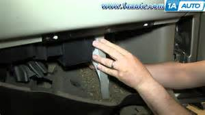 how to install replace cabin air filter 2000 02 chevy