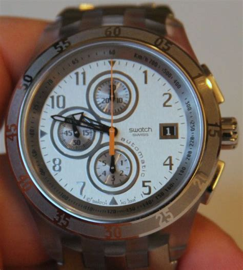 Swatch Automatic swatch automatic chrono review ablogtowatch