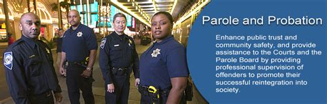 Parole And Probation Office by Department Of Safety