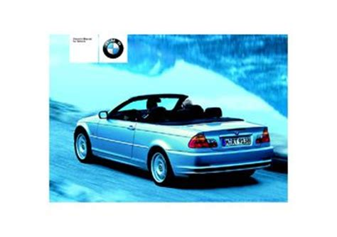 download car manuals pdf free 2003 bmw 525 engine control download 2003 bmw 330ci convertible owner s manual pdf 178 pages