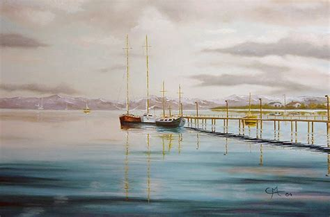 cuadros de marinas pintadas al oleo pinturas cuadros lienzos marinas pintadas al oleo