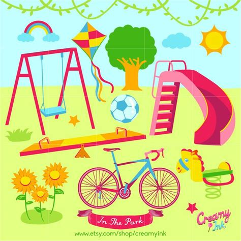 playground clip the 20 best playground clipart images on